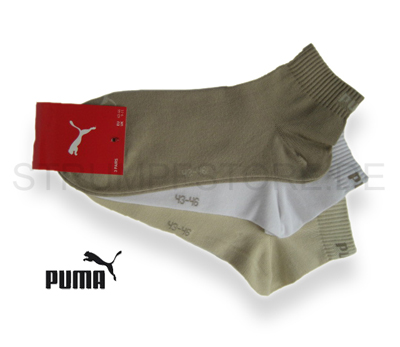 puma sneaker quarter socken unisex 3 paar safarie wei. Black Bedroom Furniture Sets. Home Design Ideas