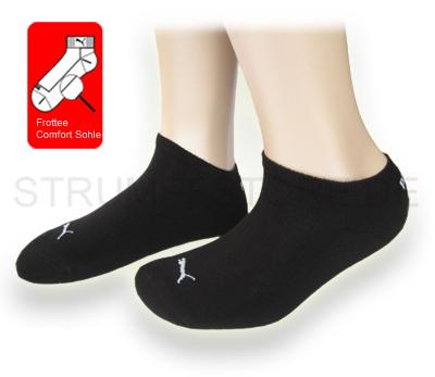 6 paar puma socken sneaker sportsocken freizeitsocken. Black Bedroom Furniture Sets. Home Design Ideas