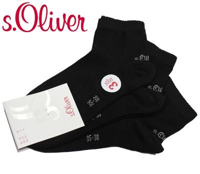 9 12 15 Paar s.Oliver Sneaker Quarter Baumwollsocken Socken Füßlinge Kurzsocken